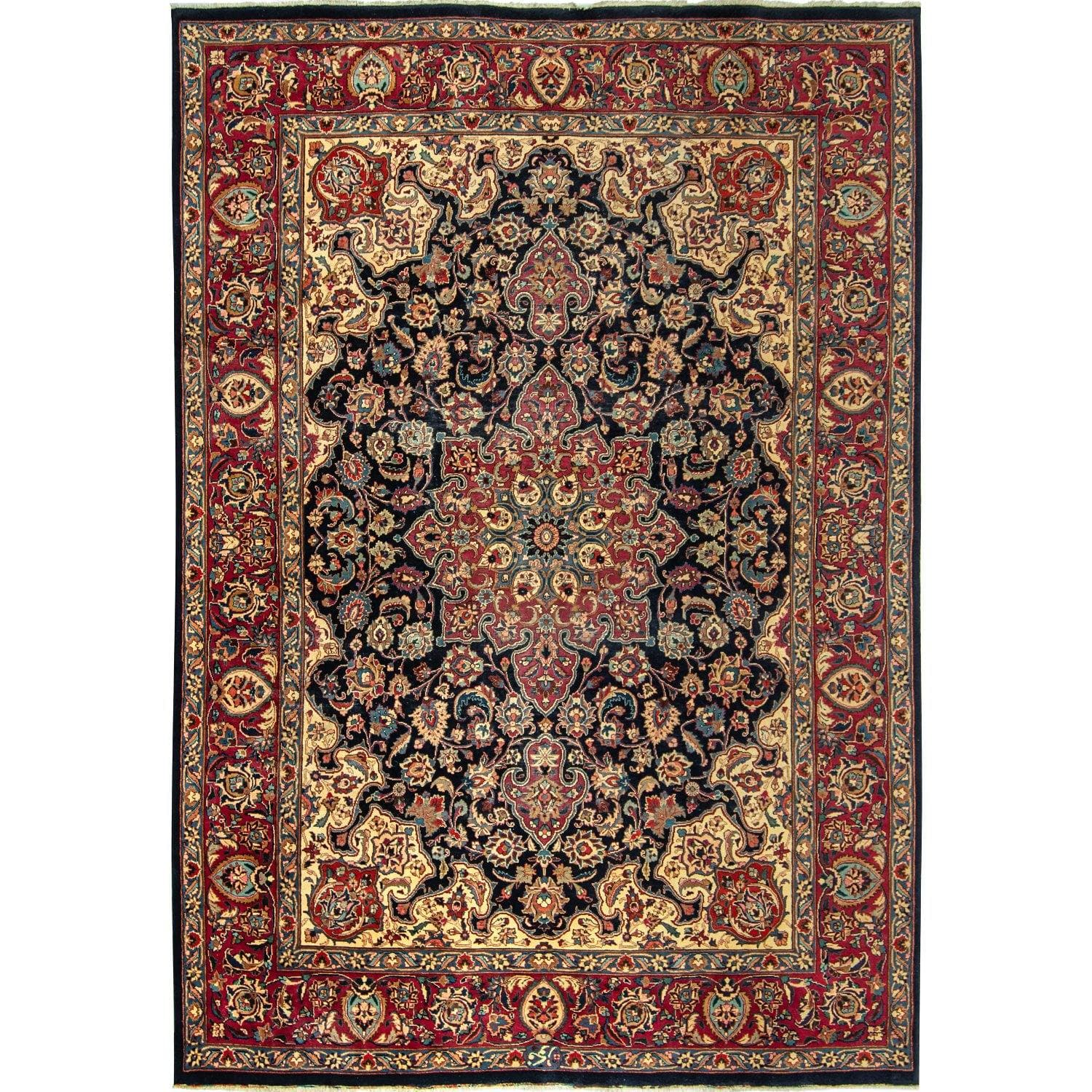 Vintage Persian Hand-knotted Wool Rug 244cm x 332cm Persian-Rug | House-of-Haghi | NewMarket | Auckland | NZ | Handmade Persian Rugs | Hand Knotted Persian Rugs