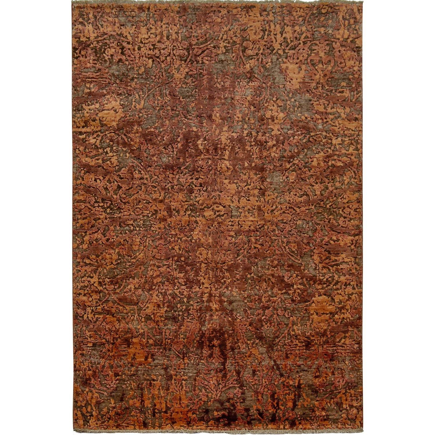 Damask Persian-Rug | House-of-Haghi | NewMarket | Auckland | NZ | Handmade Persian Rugs | Hand Knotted Persian Rugs