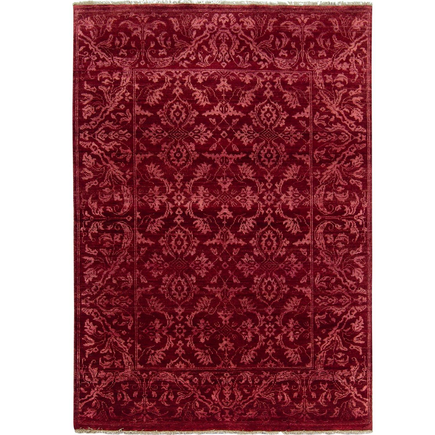 Contemporary Hand-knotted NZ Wool Damask Rug 123cm x 184cm Persian-Rug | House-of-Haghi | NewMarket | Auckland | NZ | Handmade Persian Rugs | Hand Knotted Persian Rugs