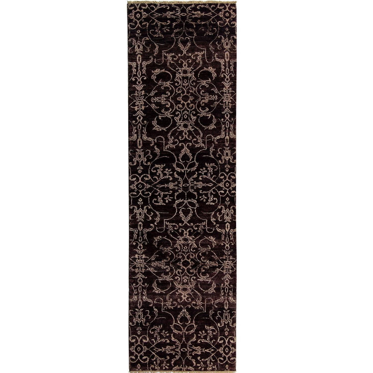 Fine Contempoaray Hand-knotted NZ Wool Runner 74cm x 256cm Persian-Rug | House-of-Haghi | NewMarket | Auckland | NZ | Handmade Persian Rugs | Hand Knotted Persian Rugs