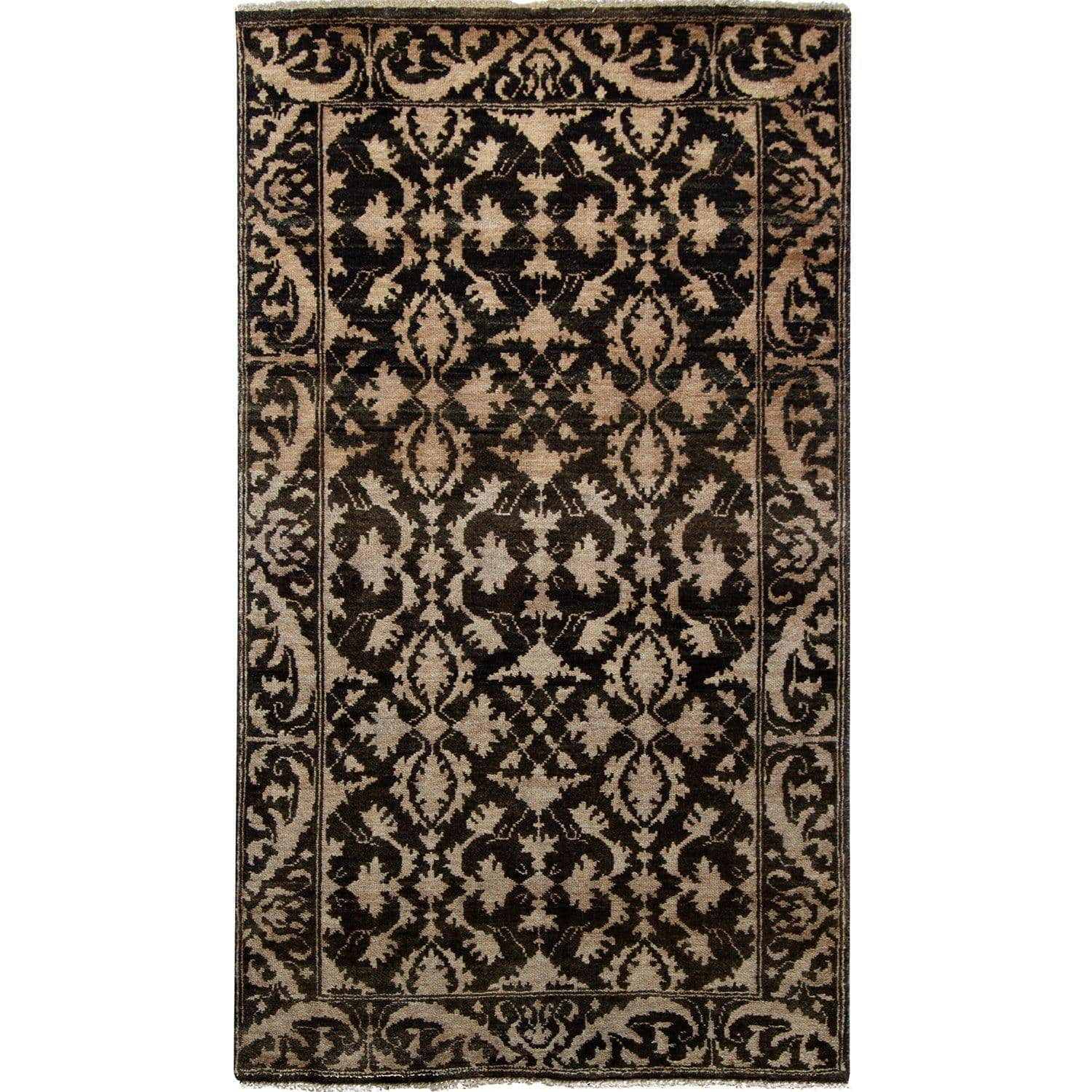 Fine Contemporary NZ Wool Hand-knotted Small Rug 92cm x 152cm Persian-Rug | House-of-Haghi | NewMarket | Auckland | NZ | Handmade Persian Rugs | Hand Knotted Persian Rugs