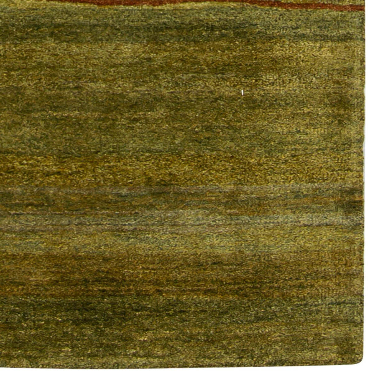 Contemporary Hand-knotted NZ Wool Colour Variation Runner 74cm x 358cm