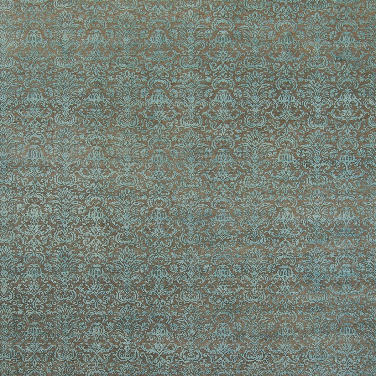 Contemporary Hand-knotted NZ Wool & Silk Damask rug 276cm x 371cm Persian-Rug | House-of-Haghi | NewMarket | Auckland | NZ | Handmade Persian Rugs | Hand Knotted Persian Rugs