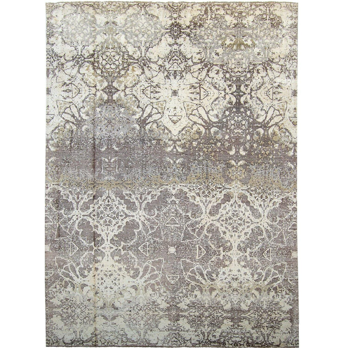 Fine Contemporary Hand-knotted NZ Wool Rug 278cm x 370cm