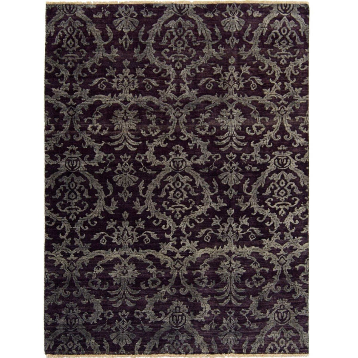 Contemporary Hand-knotted NZ Wool Damask Rug 138cm x 198cm Persian-Rug | House-of-Haghi | NewMarket | Auckland | NZ | Handmade Persian Rugs | Hand Knotted Persian Rugs