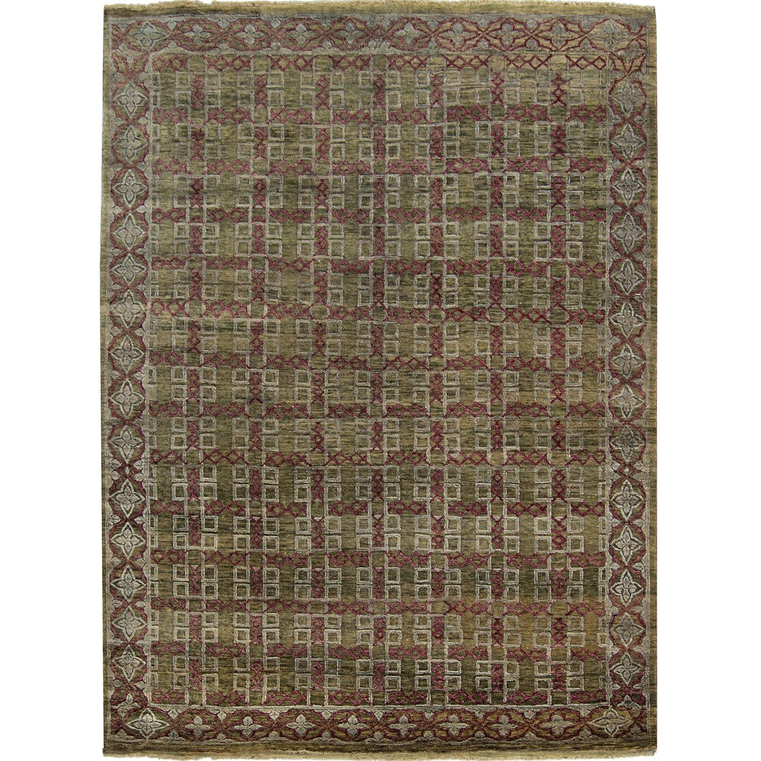 Fine Contemporary NZ Wool Hand-knotted Rug 181cm x 242cm Persian-Rug | House-of-Haghi | NewMarket | Auckland | NZ | Handmade Persian Rugs | Hand Knotted Persian Rugs