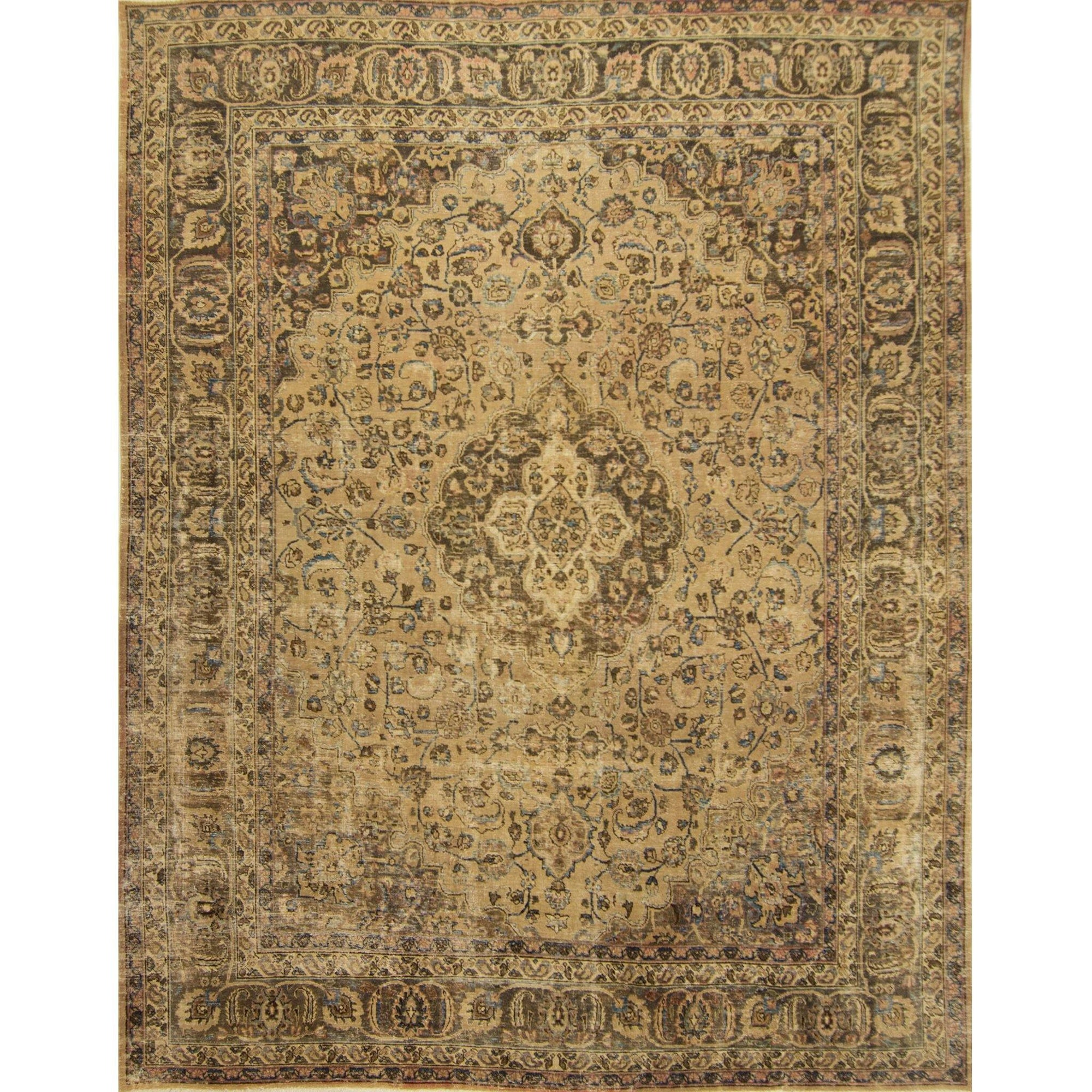 Over-dyed Vintage Persian Rug 300cm x 369cm Persian-Rug | House-of-Haghi | NewMarket | Auckland | NZ | Handmade Persian Rugs | Hand Knotted Persian Rugs