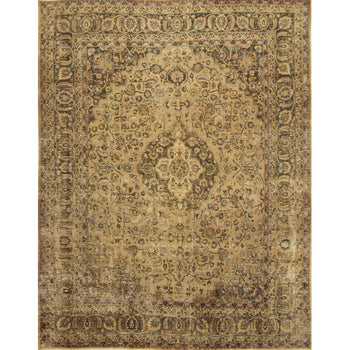 Over-dyed Vintage Persian Rug 300cm x 369cm - House Of Haghi