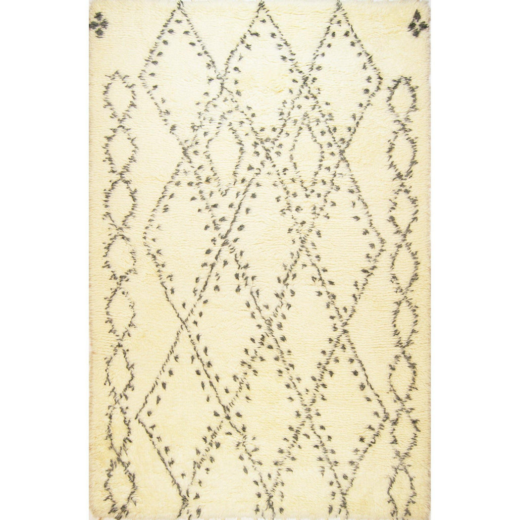 1.5 x 2.5 Meter_Persian_Moroccan_handknotted_Rug