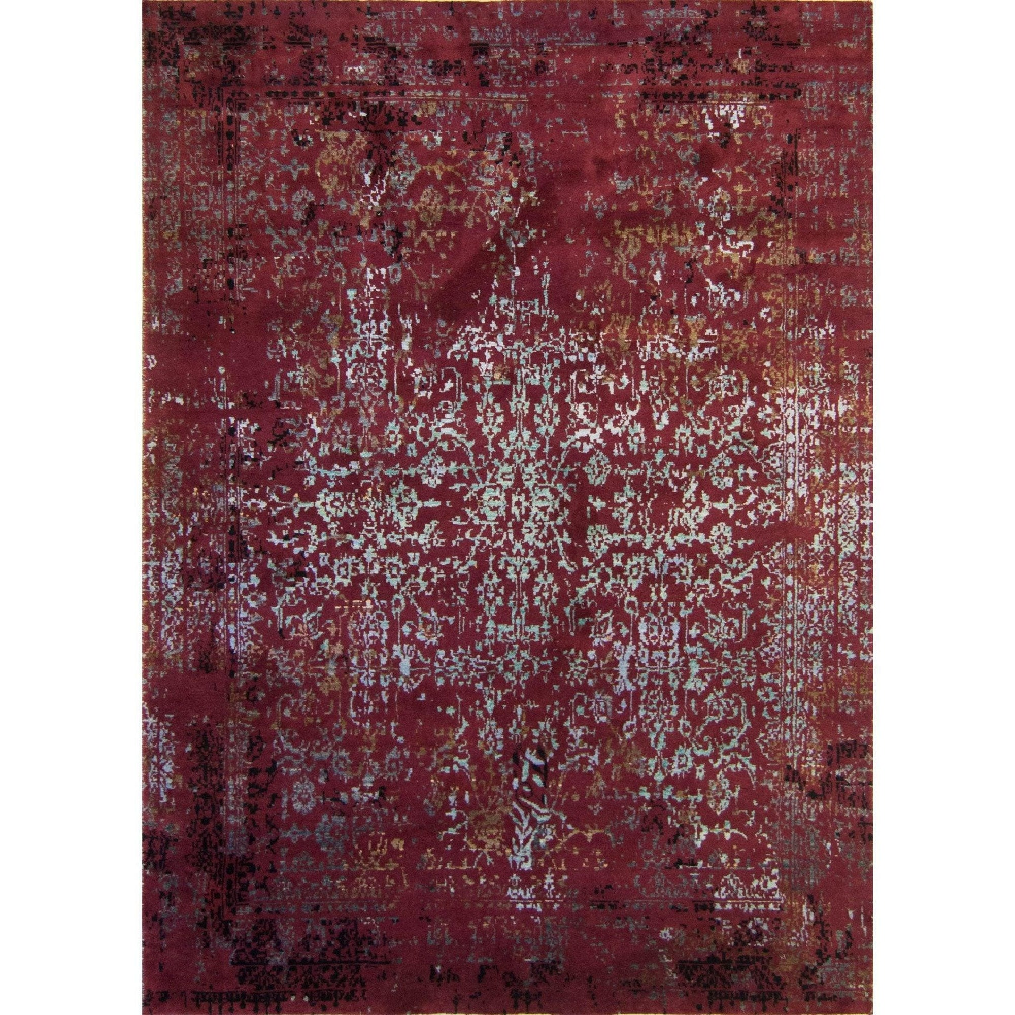 Fine Hand-knotted Modern Wool and Silk Galaxy Rug 157cm x 223cm Persian-Rug | House-of-Haghi | NewMarket | Auckland | NZ | Handmade Persian Rugs | Hand Knotted Persian Rugs
