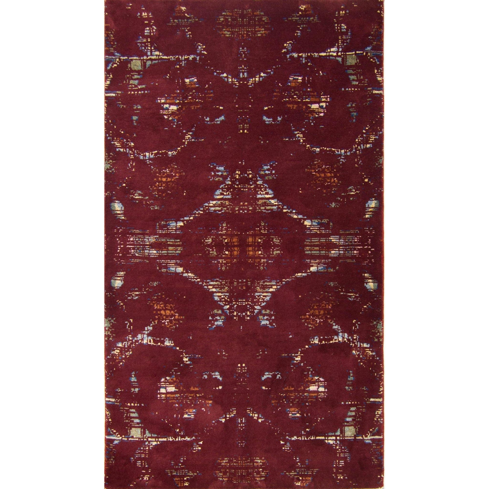 Modern Hand-knotted Wool and Bamboo Silk Galaxy Rug 94cm x 164cm Persian-Rug | House-of-Haghi | NewMarket | Auckland | NZ | Handmade Persian Rugs | Hand Knotted Persian Rugs