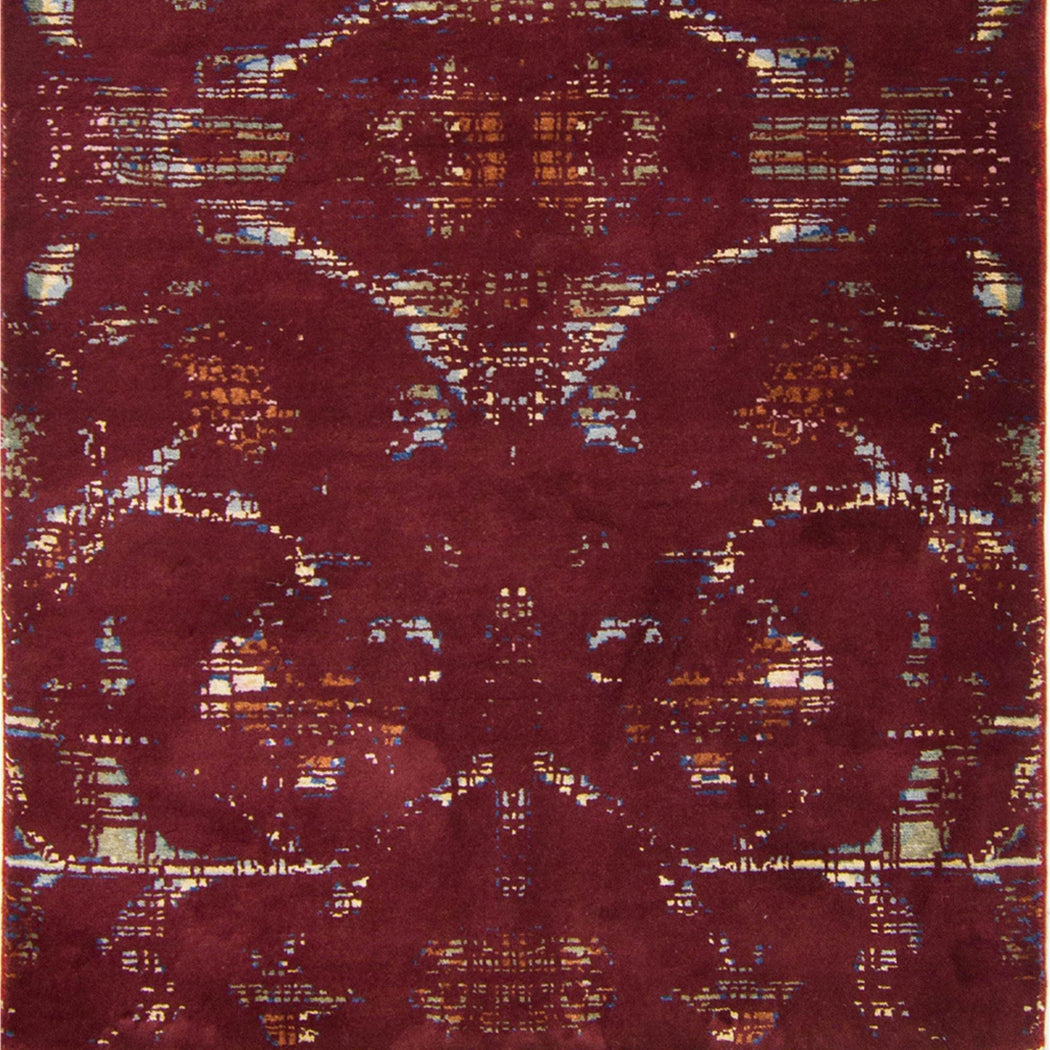 Modern Hand-knotted Wool and Bamboo Silk Galaxy Rug 94cm x 164cm - House Of Haghi