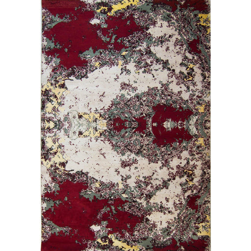 Modern Hand-knotted Wool and Bamboo Silk Galaxy Rug 184cm x 270cm - House Of Haghi
