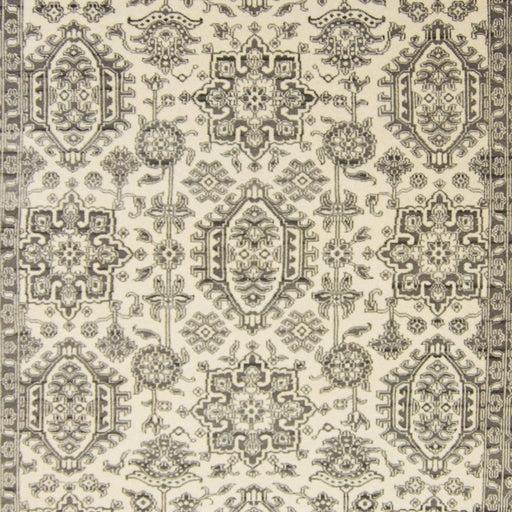 Modern Hand-knotted Wool Heriz Rug 246cm x 292cm - House Of Haghi