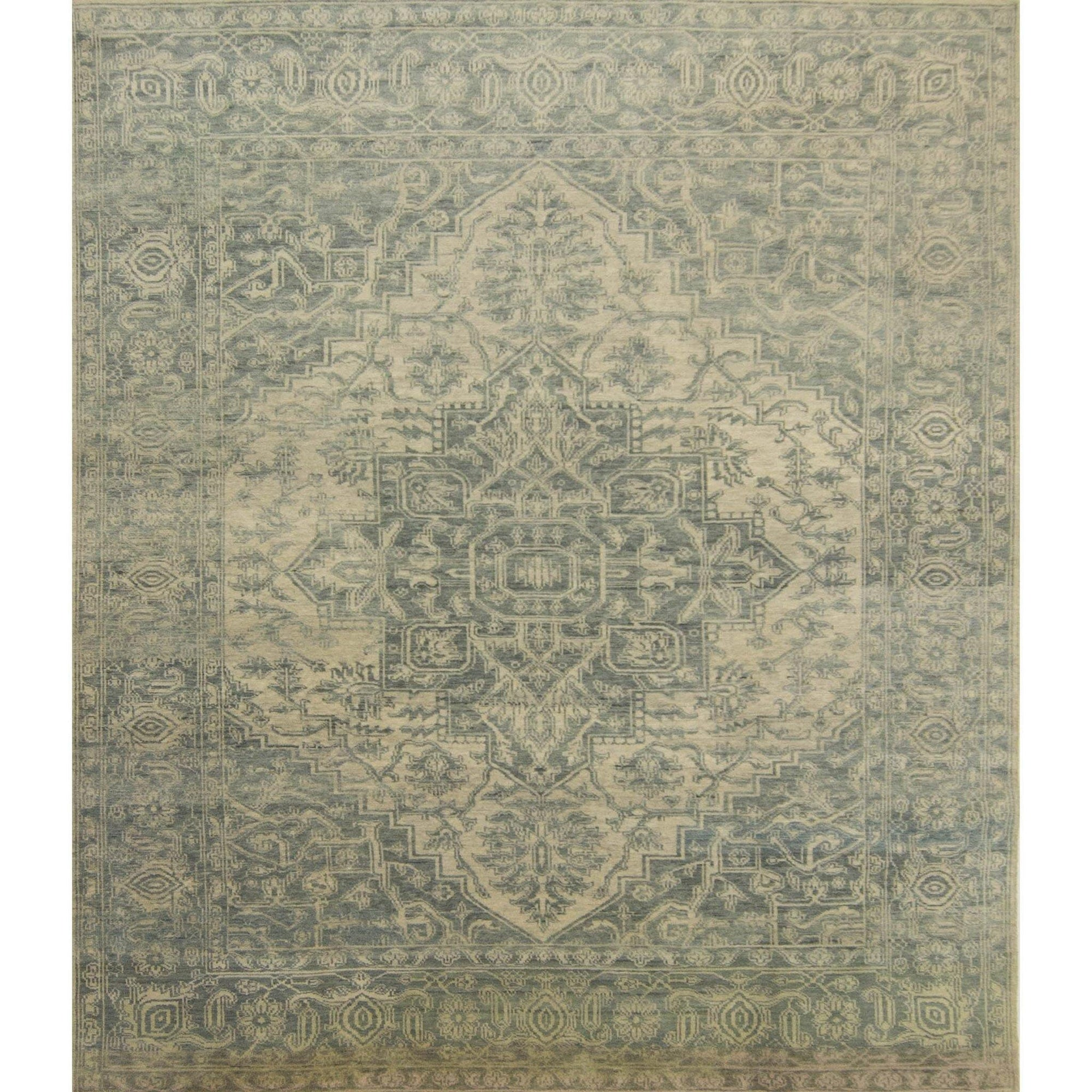 Modern Hand-knotted Wool Heriz Rug 245cm x 297cm Persian-Rug | House-of-Haghi | NewMarket | Auckland | NZ | Handmade Persian Rugs | Hand Knotted Persian Rugs