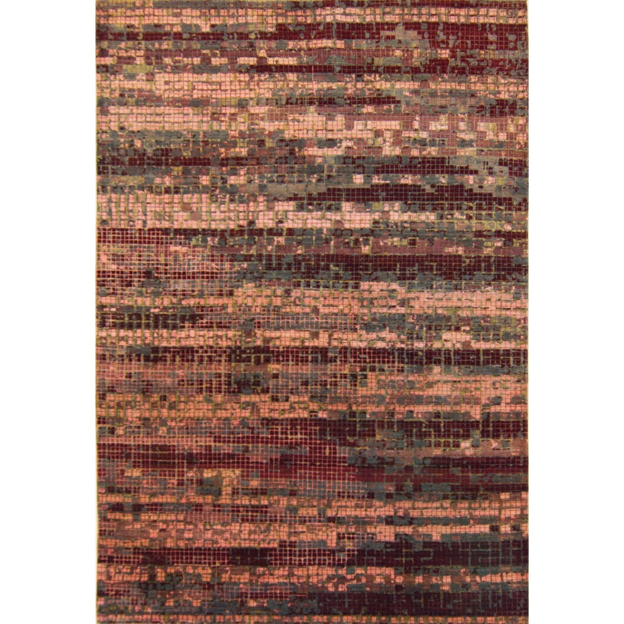 Hand-knotted Wool & Silk Contemporary Rug 202cm x 302cm Persian-Rug | House-of-Haghi | NewMarket | Auckland | NZ | Handmade Persian Rugs | Hand Knotted Persian Rugs