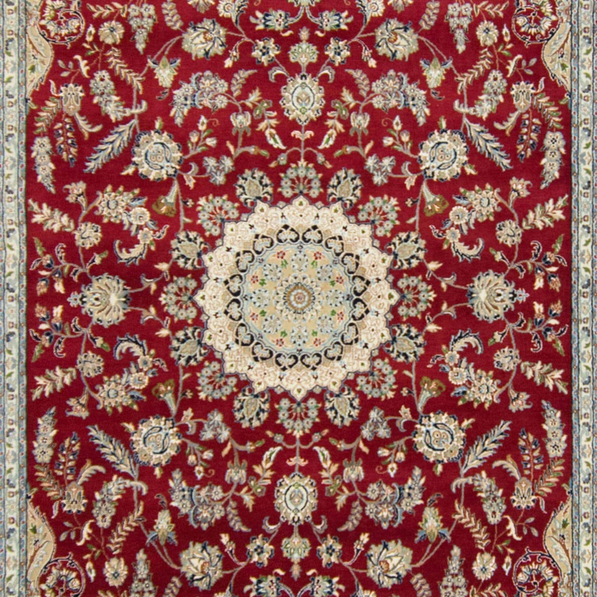 Fine Hand-knotted Wool & Silk Nain Rug 241cm x 353cm Persian-Rug | House-of-Haghi | NewMarket | Auckland | NZ | Handmade Persian Rugs | Hand Knotted Persian Rugs
