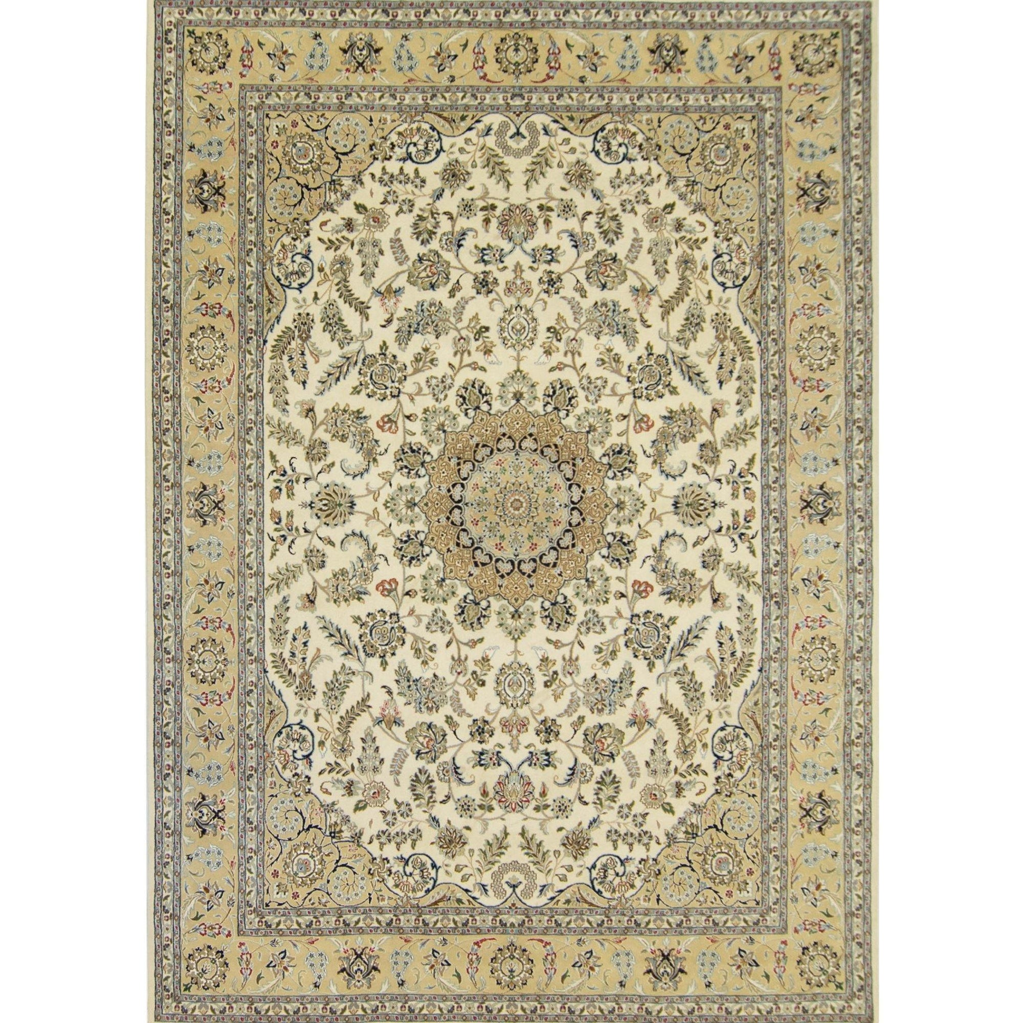 Fine Hand-knotted Wool and Silk Nain Rug 244cm x 366cm Persian-Rug | House-of-Haghi | NewMarket | Auckland | NZ | Handmade Persian Rugs | Hand Knotted Persian Rugs