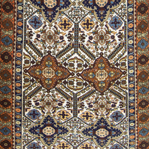 Super Fine Wool and Silk Hand-knotted Persian Ardabil Rug 133cm x 197cm - House Of Haghi