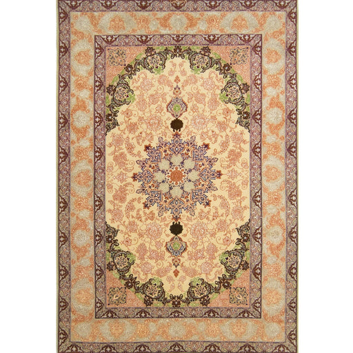 1.5 x 2.5 Meter_Persian_Isfahan_handknotted_Rug