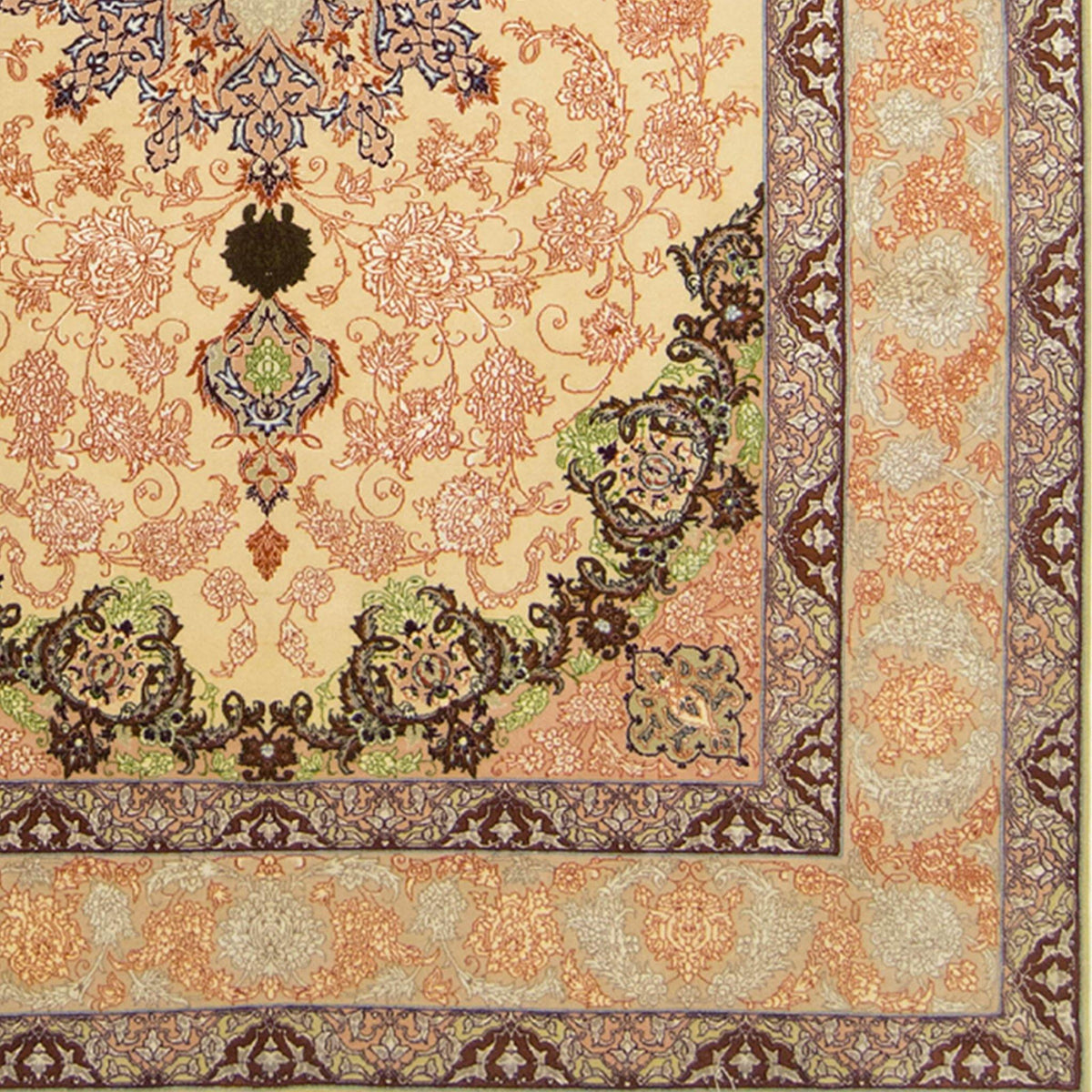 Super Fine Hand-knotted Genuine Persian Wool & Silk Isfahan Rug 156cm x 230cm Persian-Rug | House-of-Haghi | NewMarket | Auckland | NZ | Handmade Persian Rugs | Hand Knotted Persian Rugs