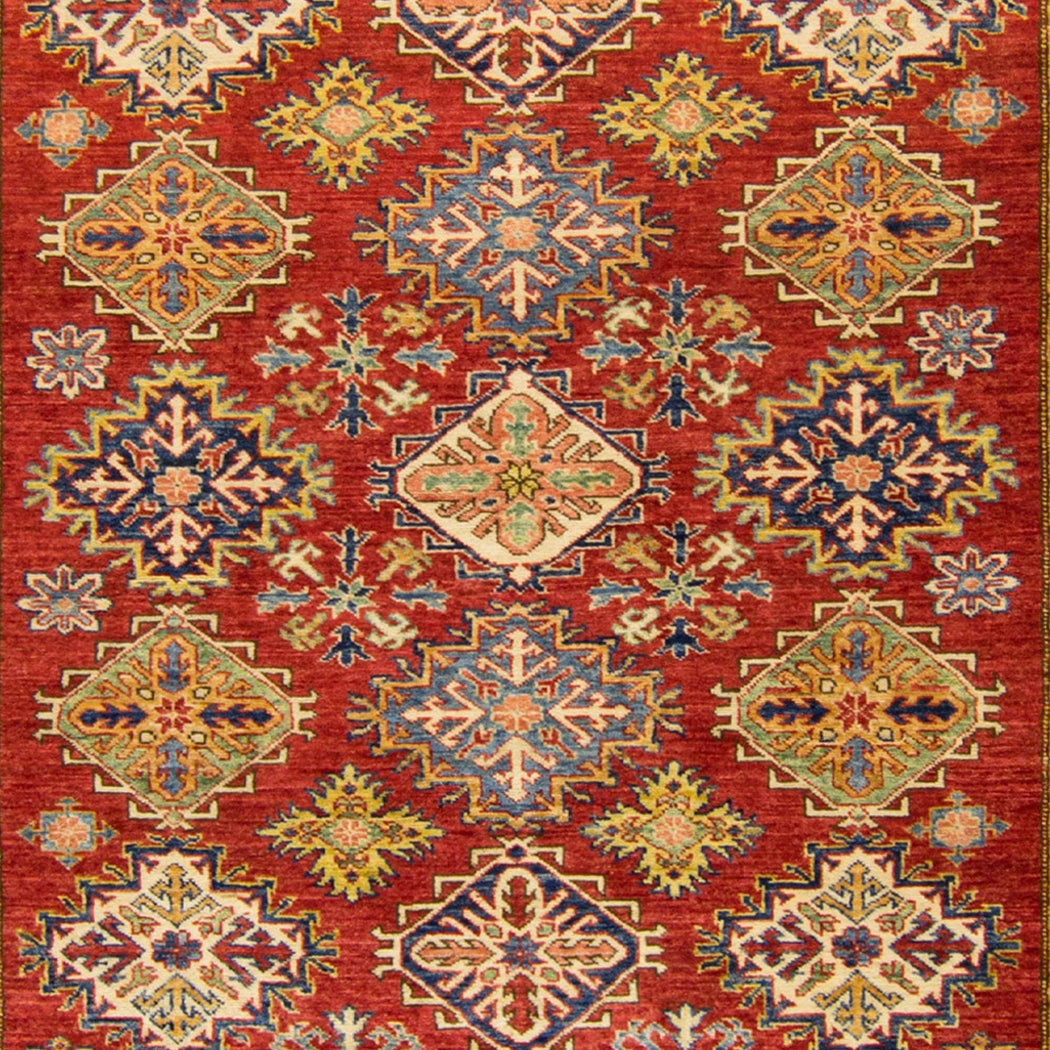 Hand-knotted Super Kazak Rug 177cm x 247cm - House Of Haghi