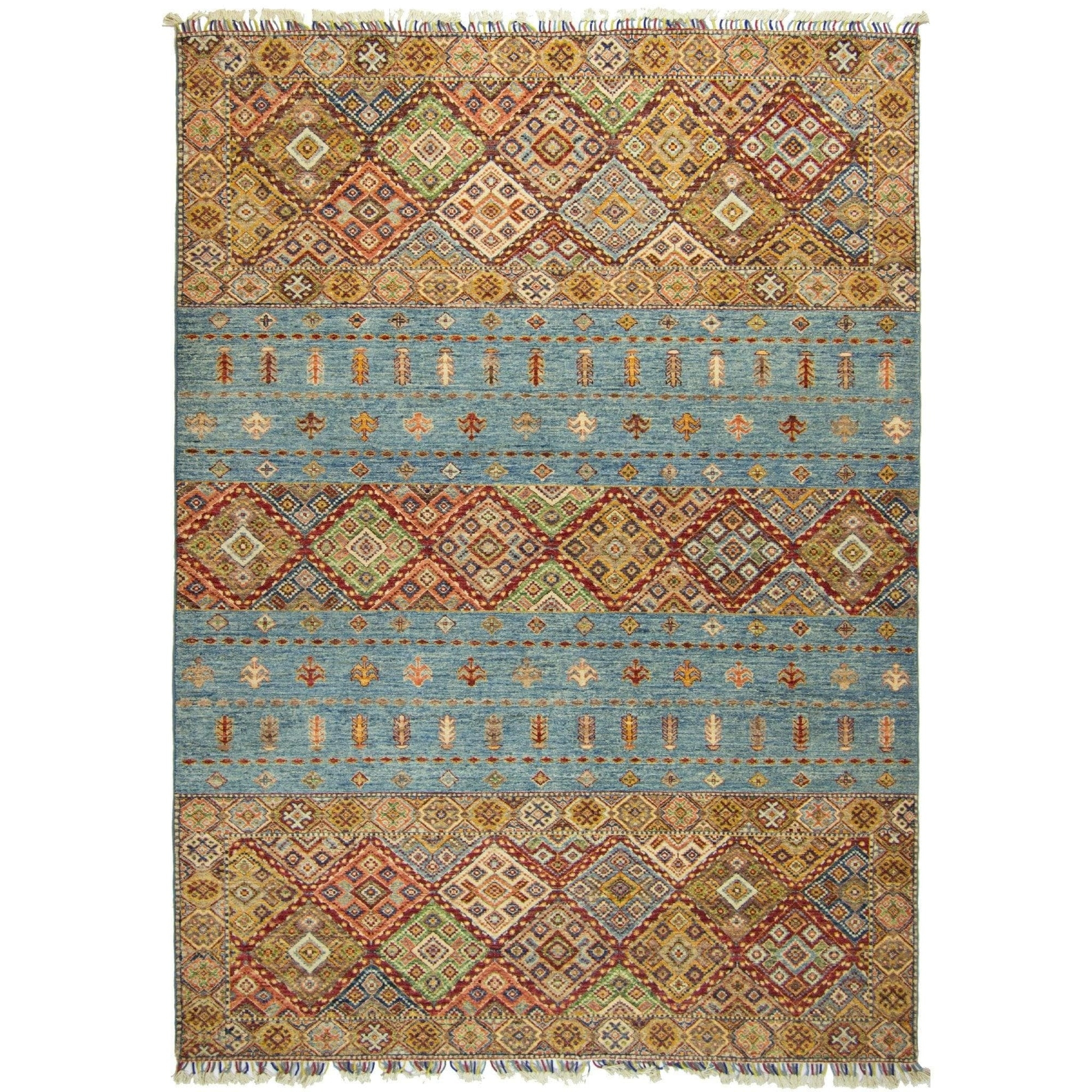Hand-knotted Khorjin Wool Rug 173cm x 242cm Persian-Rug | House-of-Haghi | NewMarket | Auckland | NZ | Handmade Persian Rugs | Hand Knotted Persian Rugs
