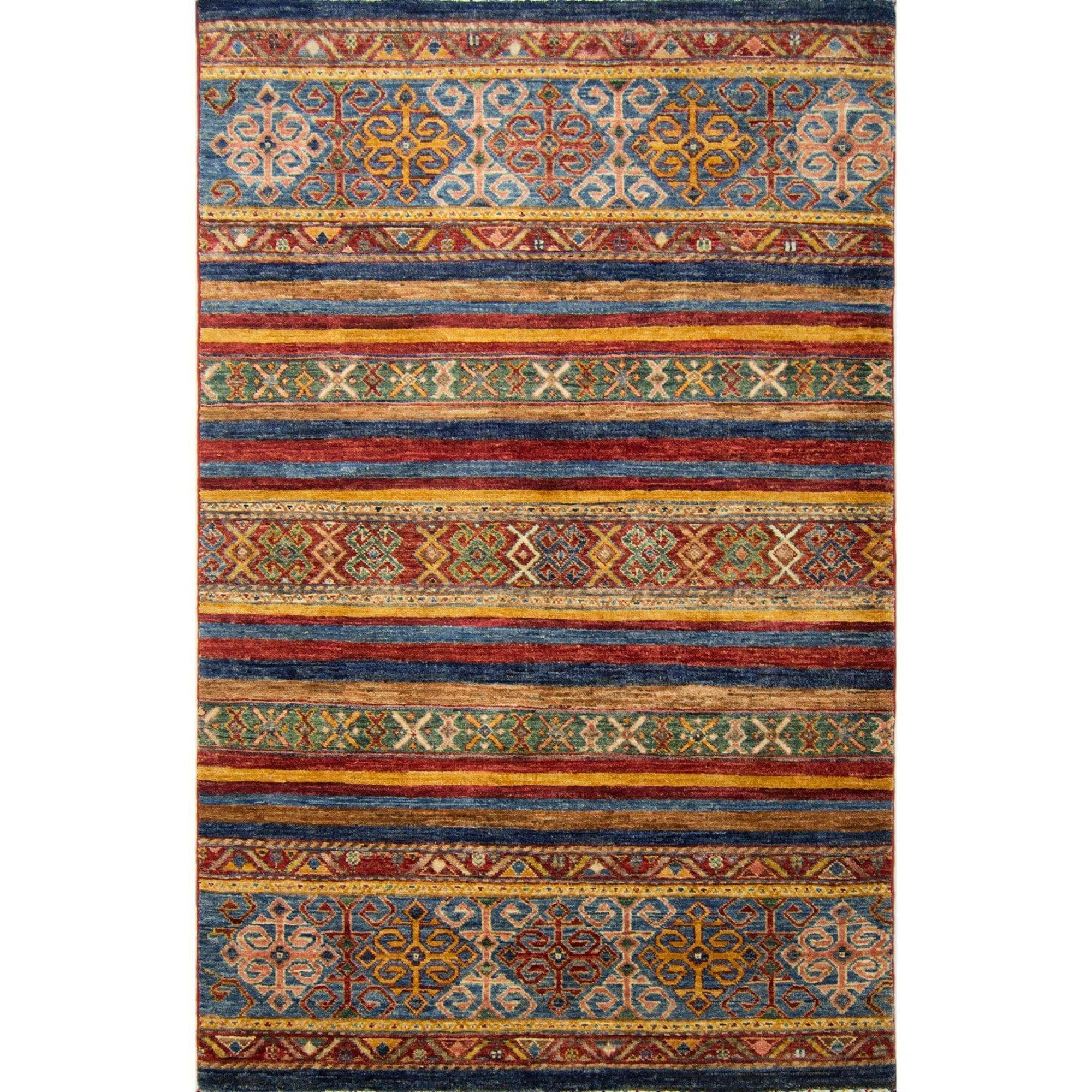 Hand-knotted Wool Khorjin Rug 105cm x 160cm Persian-Rug | House-of-Haghi | NewMarket | Auckland | NZ | Handmade Persian Rugs | Hand Knotted Persian Rugs