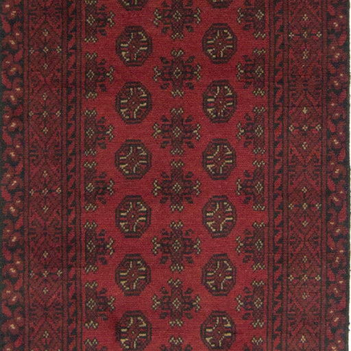 Afghan Tribal Hand-knotted 100% Wool Bokhara Runner 80cm x 375cm - House Of Haghi