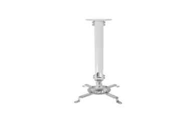 Ceiling mount for golf simulator projector in SIG8 package