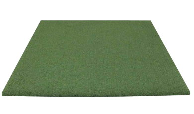 Green landing pad turf for the SIG8 golf simulator package