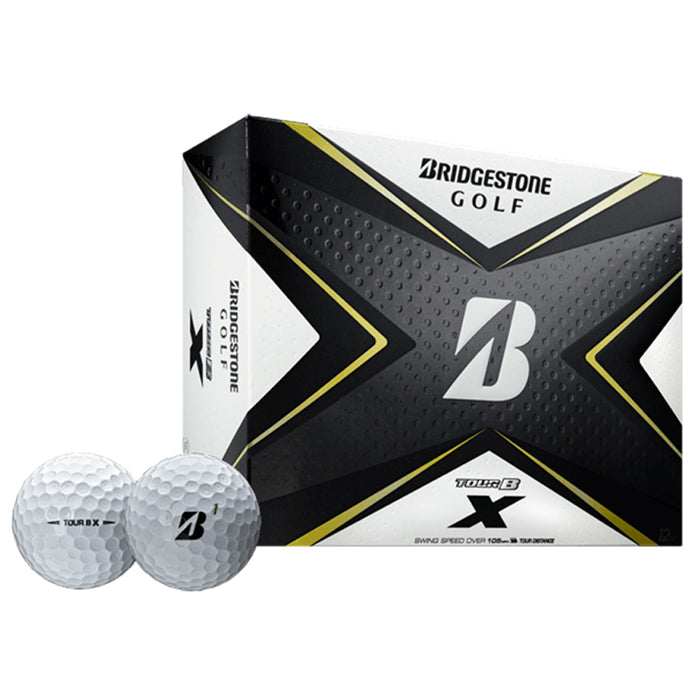 Bridgestone Tour B X Golf Balls - One Dozen