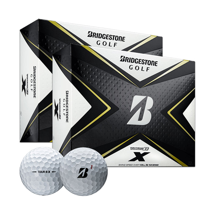 Bridgestone Tour B X Golf Balls - Two Dozen