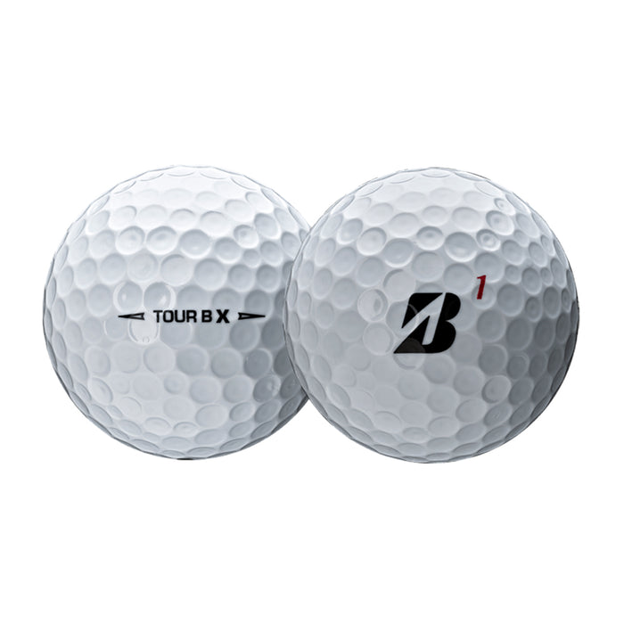 Bridgestone Tour B X Golf Balls - Close Up