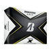 Bridgestone Tour B X Golf Balls - Designed to fit golfers with tour fast swing speeds of over 105mph