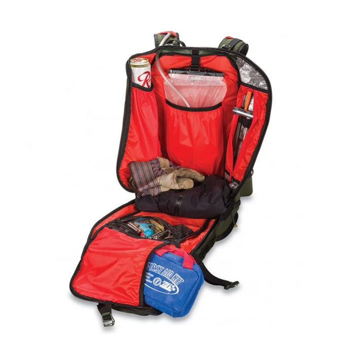 Dakine Builder Pack 40L - Jungle - Open Angle