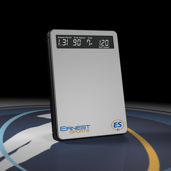 Ernest Sports ESB1 Golf Launch Monitor - Front Angle
