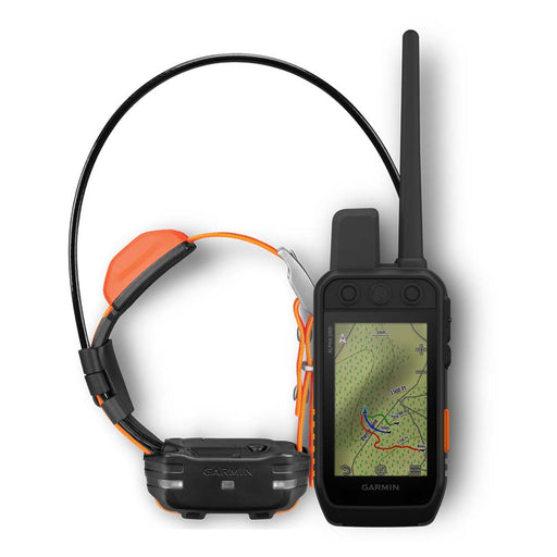 Garmin Alpha 200i Handheld GPS Dog Tracker - T 5 Dog Tracking Bundle - Open Box‎ - Front Angle