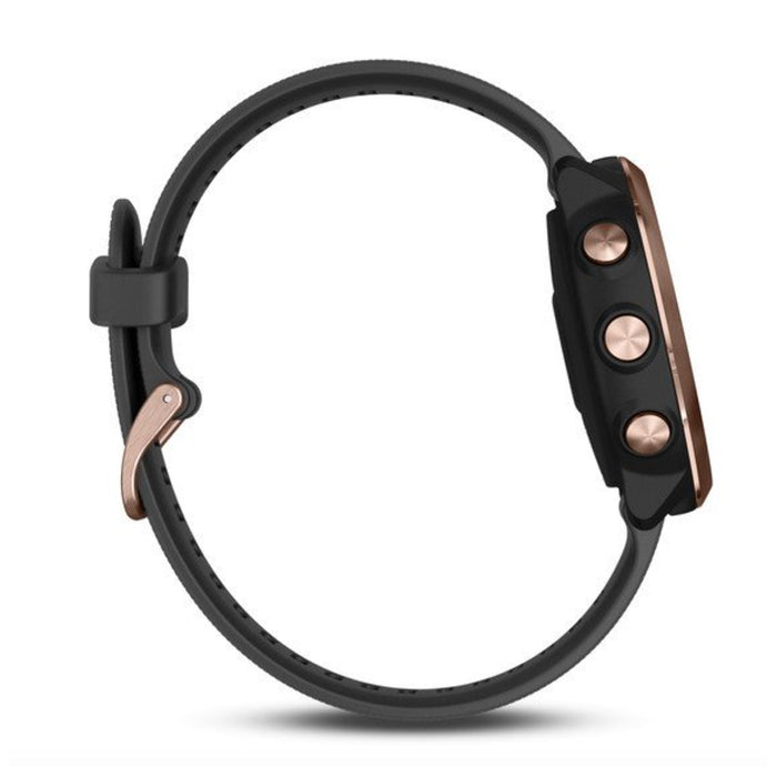 #color_Forerunner 645 Music (Black/Rose Gold)
