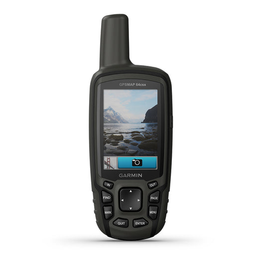 Garmin GPSMAP 64csx Handheld Hiking GPS