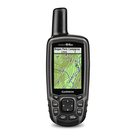 Garmin GPSMAP 64st Handheld Hiking GPS (OPEN BOX)