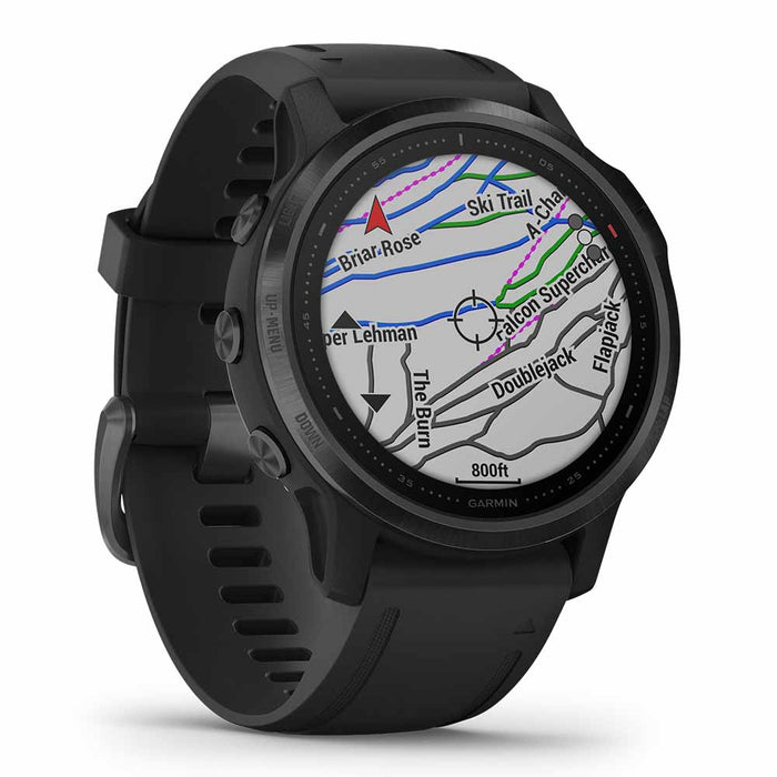 #color_fenix 6S Pro (Black)