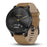 #color_vivomove HR Premium (Onyx Black/Tan Suede)
