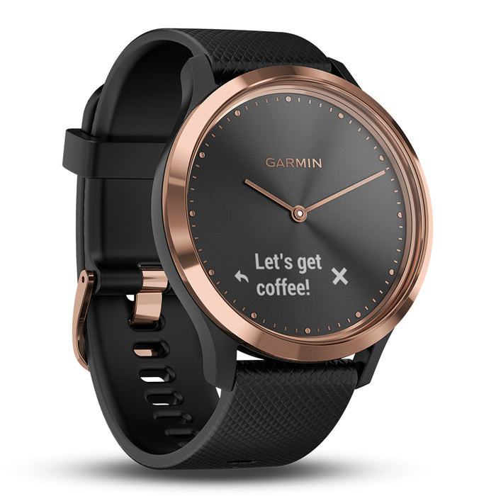 #color_vivomove HR Sport (Rose Gold/Black)