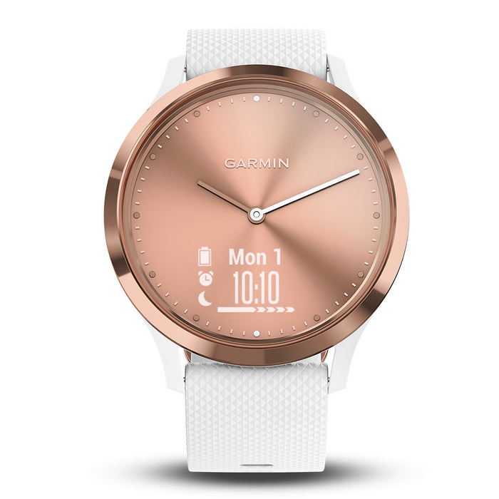 #color_vivomove HR Sport (Rose Gold/White)