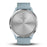 #color_vivomove HR Sport (Silver/Sea Foam)