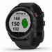 Garmin Approach S42 Golf GPS Watch (Black/Gray) - Best Garmin Golf Watch at PlayBetter.com