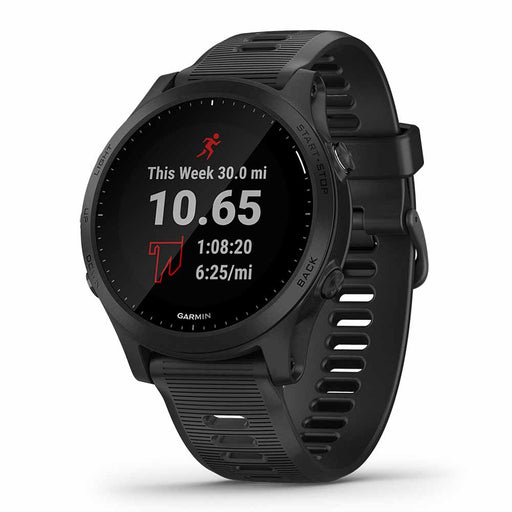 Garmin Forerunner 945 Premium GPS Running Watch - Black Watch Only - Used - Right Angle