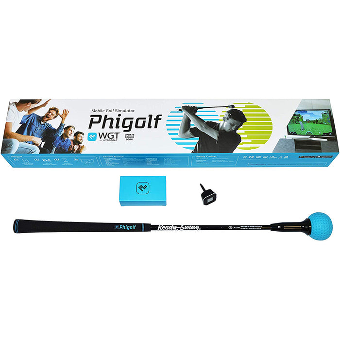 PhiGolf Golf Simulator with Swing Trainer Club (OPEN BOX)