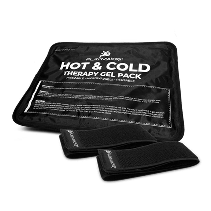 PlayMakar Hot & Cold Therapy Gel Pack with Straps to Secure